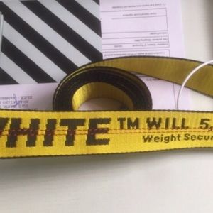 Off-white belt 2013 authentic new with tags